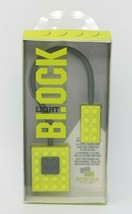 Block Light Clip on Green Lego Style Book Light NIP - $9.13