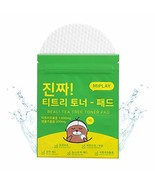 Miplay Real! Tea Tree Face Wipes - Reusable Toner Pads to Replenish Skin... - $13.20