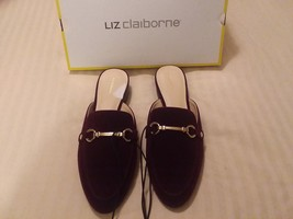 Liz Claiborne Womens Shoes Mules Loafers Slides Flats Size 8.5M New With... - $31.93
