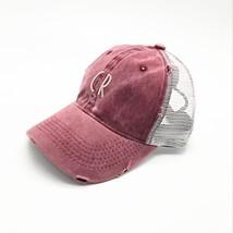 2018 new Summer Baseball Cap Embroidery Washing Mesh Cap Hats For Men Wo... - £7.67 GBP