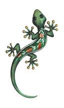 StealStreet Green Lizard Orange Spotted Copper Wall Decoration - €30,61 EUR