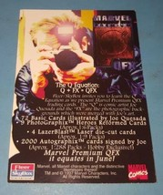 1997 MARVEL QFX HOWARD THE DUCK PROMO COMIC CARD NO NUMBER image 2