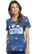 Charlie Brown Cherokee Tooniforms Peanuts V Neck Medical Scrub Top TF626 PNOF - $24.97+