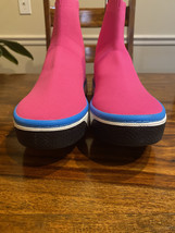 Marc Jacob Women's Dart Sock Sneaker Trainer Pink Size 8 Slip-on Pull-tab - $100.00