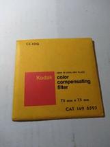 Kodak color compensating Filter  CC10G 75x75mm 1496595 - $12.20