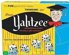 Yahtzee Classic Exciting Dice Game Of Skill & Chance Thinking Fun Luck S... - $23.85