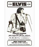 "Elvis Presley ""New Years Eve 1975"" Pontiac Stadium 20 x 30 Reproduction ... - $45.00"