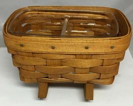 "Vintage Longaberger Mini Rocking Cradle Collector's Basket 1991  7"" x 5"" X 5"" - $15.67"