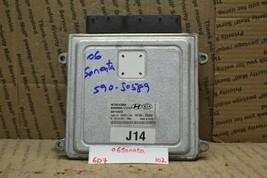 2006-2008 Hyundai Sonata 2.4L Engine Control Unit ECU 3910025130 Module 102-6D7 - $12.19