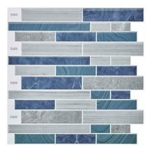 "(Ship from USA)12""x12"" Waterproof Self Adhesive Mosaic Tile Wall Sticker Peel an image 3"