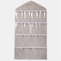 2017 Hot Sale  Hanging Organizer 16Pockets Clear Hanging Bag Socks Bra U... - $16.15 CAD