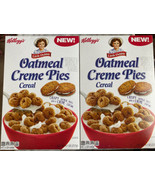 2 Boxes New Little Debbie Oatmeal Creme Pies Cereal Holiday Bundle Value - $19.79
