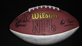 2002 Pittsburgh Steelers Team Signed Full Size Football Cowher Bettis Wa... - $186.99