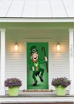 Dancinig Leprechaun Fabric Door Cover - $49.99+
