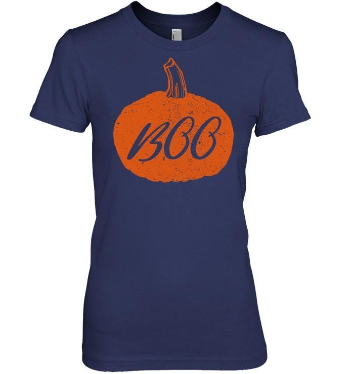 Funny Pumpkin Boo Halloween Tshirt