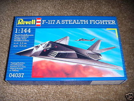 REVELL 4037 F-117 A STEALTH FIGHTER AIRPLANE MODEL KIT SKILL 2  NEW- W53 - $6.81