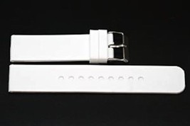26MM WHITE RUBBER ADVENTURE SPORT DIVER WATERPROOF WATCH BAND STRAP FIT ... - $12.38