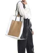 Phillip Lim 3.1 Accordion Tote Shopper Leather Bag Purse New - $629.99