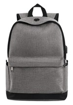 Water Resistant Travel Backpack, School Backpack with USB Charging Port,... - $30.54