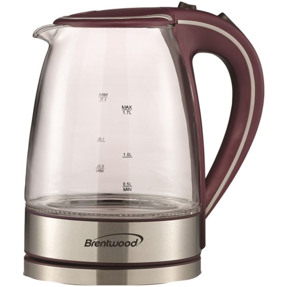 Primary image for Brentwood Appliances KT-1900PR 1.7-Liter Borosilicate Glass Tea Kettle (Purple)