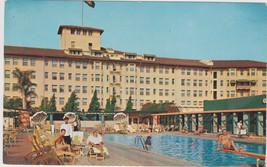 Los Angeles Ambassador Sun Club Pool CA Postcard - $6.95