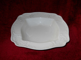 "SANSSOUCI IVORY NO TRIM  ROSENTHAL 9 1/2"" square serving bowl - $24.70"