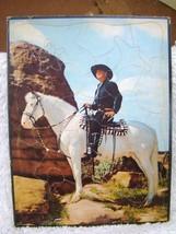 Vintage Copyright 1950 Hopalong Cassidy William Boyd Cardboard Frame Tra... - $12.86