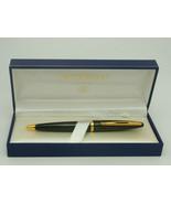 Vintage Waterman Carene Sea Green & Gold Trim Ballpoint Pen + Waterman G... - $188.67