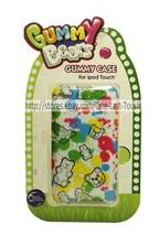 SAKAR Rubber Gummy Case GUMMY BEARS 4th Generation FOR iPOD TOUCH Paint ... - $5.93