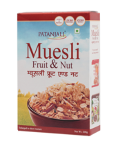 Patanjali Muesli Fruit & Nut - 200gm - $19.84