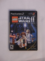 LEGO STAR WARS II 2 THE ORIGINAL TRILOGY COMPLETE DISC+MANAUL+CASE TESTED - $7.25