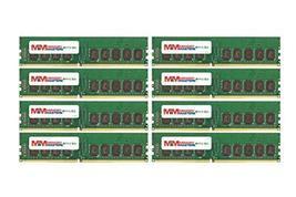 MemoryMasters 64GB (8x8GB) DDR4-2133MHz PC4-17000 ECC UDIMM 2Rx8 1.2V Unbuffered - $474.21