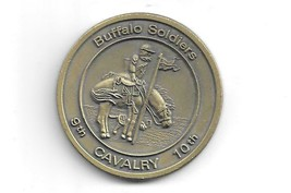 CHALLENGE COIN/MEDAL - DEFENDERS OF THE WEST - BUFFALSO SOLDIERS  .(USM ... - $14.84