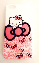 **Cute HELLO KITTY Cell Phone Case Fits iPhone 5 5s --More Styles Avail Too!**