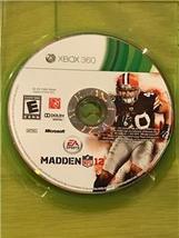 Madden NFL 12 (Microsoft Xbox 360, 2011) - $1.16