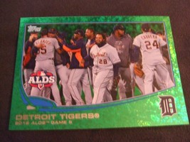 2013 Topps Emerald #42 Detroit Tigers ALDS Game #5 - $3.12