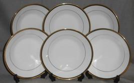 Set (6) Noritake Elysee Pattern Coupe Soup Bowls Made In Japan - $79.19