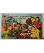 "Leap Year 1908 ""The Trap"" One Way of Catching them Postcard D2 - €4,53 EUR"