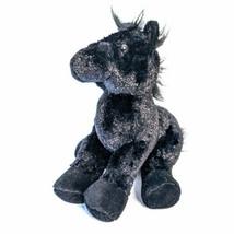 "Webkinz GANZ Horse Black Stallion Plush Stuffed Animal HM145 8""  - $9.75"