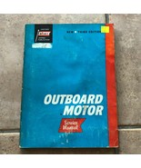 Vintage 1965 ABOS Outboard Motor Service Manual 3rd Ed. Covers 1955-1965  - $11.25