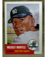 MICKEY MANTLE 1996 TOPPS REPRINT 1953 TOPPS CARD#82 PSA10?YANKEES CF GOA... - $14.84