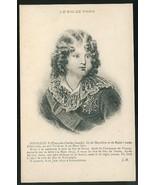 Le Roi De Rome Napoleon II France Royalty Vintage Postcard Lithograph - $7.50