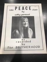 Peace Sheet Music - $14.43