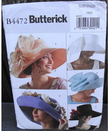 Butterick B4472 Big Floppy Spring Hats Pattern* - $24.99