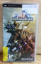 Final Fantasy Tactics War of the Lions PSP Vintage Video Game Disk Manua... - $13.99