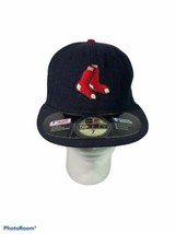 New Era Boston Red Sox Fitted Hat size 7 1/8 - $12.87