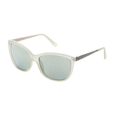Womens Designer Sunglasses Guess - GU7444 Ivory Off White UV Protected Polarized