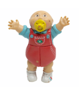 """Baby Cabbage Patch Kids Vintage 1984 OOA 2"""" Mini Figure Red Overalls Pac... - $12.86"""