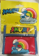 "Smurf Wallet "" have a smurfy day ""  - MIP - $47.50"