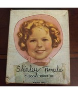 SHIRLEY TEMPLE 1936 FIVE BOOKS ABOUT ME With box  Fantastic condition - $28.21